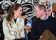 Kate Middleton & Prince William PDA In Bella Bella!