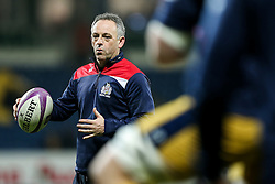Bristol Rugby Acting Head Coach Mark Tainton in action during the warm up - Rogan Thomson/JMP - 16/12/2016 - RUGBY UNION - Stade du Hameau - Pau, France - Pau v Bristol Rugby - EPCR Challenge Cup.
