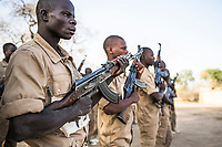 Although rangers in Africa have always had to work with weapons as a part of their duties, the recent escalation of wildlife crime has meant that military type tactics and training has become a standard operating procedure. Extensive weapons drills are repeatedly fine-tuned so that the rangers can protect themselves and their team members during contact with poaching gangs