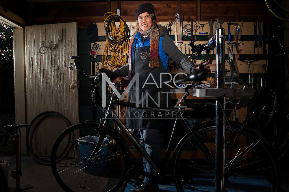 Kerri's Neighborhood Bike Shop. Eugene, Oregon.