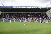 13th July 2019,  Starks Park, Kirkcaldy, Scotland; Scottish League Cup football, Raith Rovers versus Dundee; Dundee fans