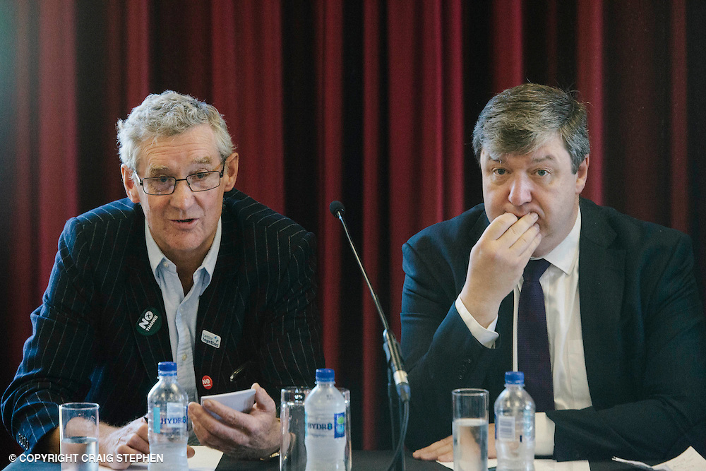 Royal Highland Show 2014. Referendum debate at the Royal Highland Show. Present were Richar Lochhead, Alistair Carmichael, Lesley Riddoch, Peter Chapman and chaired by Ian Grant. PAYMENT TO CRAIG STEPHEN 07905 483532