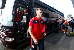 Tomas Kalas of Bristol City arrives at the Hawthorns for the Sky Bet Championship fixture against West Bromwich Albion - Mandatory by-line: Robbie Stephenson/JMP - 18/09/2018 - FOOTBALL - The Hawthorns - West Bromwich, England - West Bromwich Albion v Bristol City - Sky Bet Championship