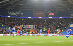 View of The Bristol City crowd inside the Cardiff City Stadium. - Mandatory by-line: Alex James/JMP - 14/10/2016 -  FOOTBALL - Cardiff City Stadium - Cardiff, Wales -  Cardiff City v Bristol City - Sky Bet Championship
