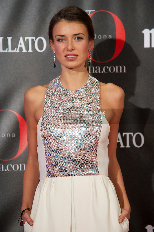 Natasha Yarovenko attends 'Yo Dona' Magazine's Mask Party at Casino on 18 February, 2013 in Madrid