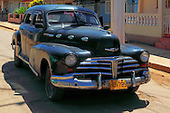 Car in Batabano, Mayabeque Province, Cuba.