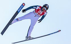 20.12.2015, Nordische Arena, Ramsau, AUT, FIS Weltcup Nordische Kombination, Skisprung, im Bild Magnus Moan H. (NOR) // Magnus Moan H. of Norway during Skijumping Qualification of FIS Nordic Combined World Cup, at the Nordic Arena in Ramsau, Austria on 2015/12/20. EXPA Pictures © 2015, PhotoCredit: EXPA/ JFK