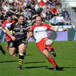 Eduard COETZEE - 05.03.2011 - Biarritz / La Rochelle - 20eme journee de Top 14 - Photo : Nicolas Mollo / Icon Sport