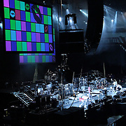 The Beum  PSAV projection screens at Key Arena during Yim Jae Beum concert.