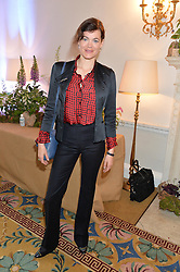JASMINE GUINNESS at a breakfast hosted by Zita West and Leo Bamford to launch a range of vitamins for babies & children held at the Royal Society of Medicine, Chandos House, 2 Queen Anne Street, London on 21st May 2015.