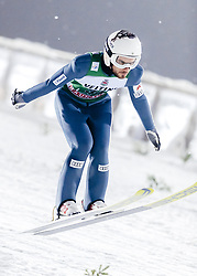 February 8, 2019 - Lahti, Finland - Vladimir Zografski participates in FIS Ski Jumping World Cup Large Hill Individual training at Lahti Ski Games in Lahti, Finland on 8 February 2019. (Credit Image: © Antti Yrjonen/NurPhoto via ZUMA Press)