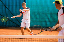 Gregor Breskvar during Day 6 at ATP Challenger Zavarovalnica Sava Slovenia Open 2018, on August 8, 2018 in Sports centre, Portoroz/Portorose, Slovenia. Photo by Vid Ponikvar / Sportida