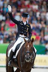 Helen Langehanenberg, (GER), Damon Hill NRW - Grand Prix Special Dressage - Alltech FEI World Equestrian Games™ 2014 - Normandy, France.<br /> © Hippo Foto Team - Leanjo de Koster<br /> 25/06/14,