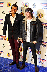 © Licensed to London News Pictures. 16/12/2011. London, England. Mark Wright and Dougie Pointer attends the Channel 4 British Comedy Awards  in Wembley London .  Photo credit : ALAN ROXBOROUGH/LNP