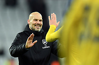 Football - 2019 / 2020 Premier League - West Ham United vs. Arsenal<br /> <br /> Arsenal caretaker manager Freddie Ljungberg after their 3-1 victory, at The London Stadium.<br /> <br /> COLORSPORT/ASHLEY WESTERN