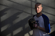 New York Mets pitcher Zack Wheeler, shown at his East Paulding County High School baseball field in Powder Springs, Ga., Monday, Jan. 21, 2013, says he is looking forward to joining the team for spring training.   (David Tulis)