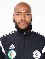 Confederation of African Football - World Cup Fifa Russia 2018 Qualifier / <br /> Algeria National Team - Preview Set - <br /> Raïs M'Bolhi Ouhab