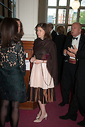 LADY SARAH CHATTO, The London Library Annual  Life in Literature Award 2013 sponsored by Heywood Hill. The London Library Annual Literary dinner. London Library. St. james's Sq. London. 16 May 2013.
