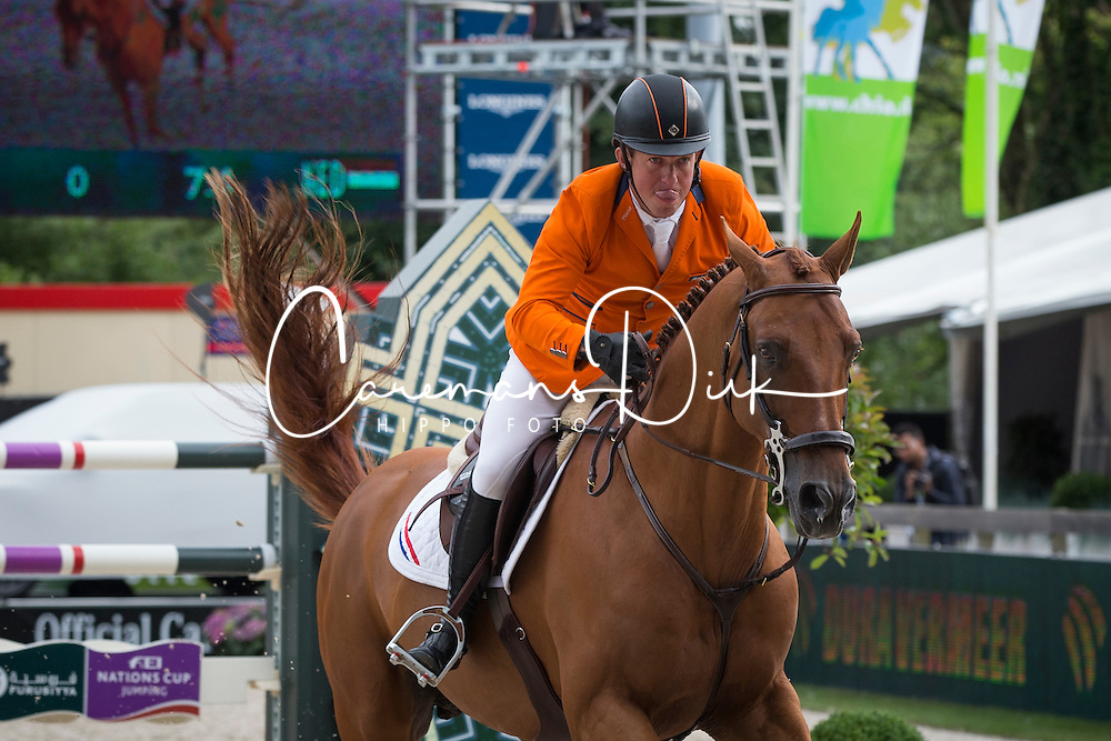 Schroder Gerco (NED) - Glock's London NOP <br /> Furusiyya FEI NATIONS CUP presented by Longines<br /> CHIO Rotterdam 2014<br /> &copy; Dirk Caremans