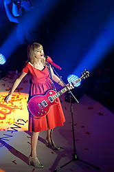 Taylor Swift, performs three songs and switches on Westfield White City Christmas Lights as West London shopping centre starts its festive celebrations, following in the footsteps of Justin Bieber last year.  Westfield London, Ariel Way, London, United Kingdom, November 6, 2012. Photo by Nils Jorgensen / i - Images.