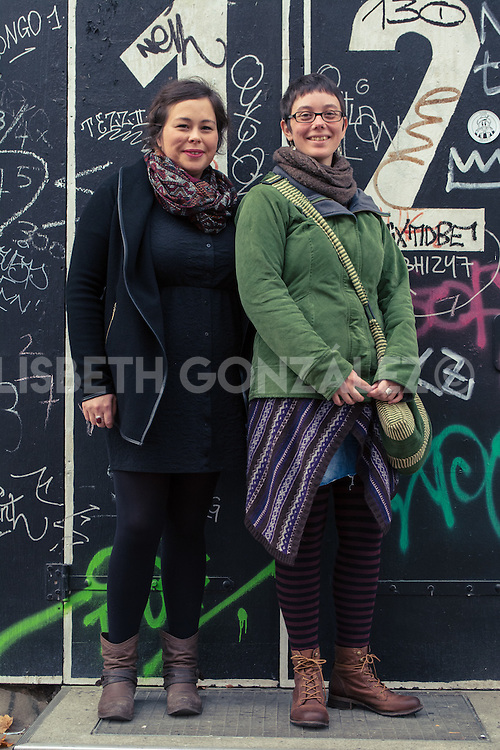 Street photographs by Lisbeth González portraying pedestrians of Berlin and randomly asking them to allow her to take a picture. Street photographs by Lisbeth González portraying pedestrians of Berlin and randomly asking them to allow her to take a picture.