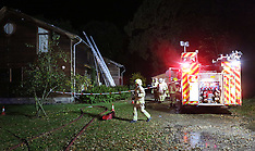 Egham House Fire Overnight