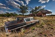 Newkirk, New Mexico  Route 66. 1961 Rambler Ambassador