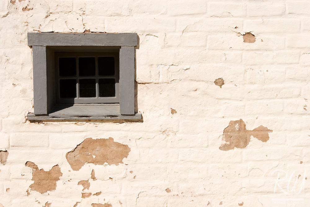 Window, Sutter's Fort State Historic Park, Sacramento, California