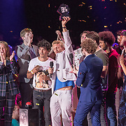 NLD/Amsterdam/20180905- Uitreiking 3FM Awards 2018, Chef's Special wint award Beste Life Act