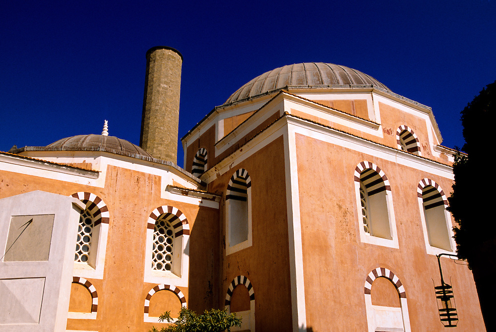 The Mosque of Suleyman, Old Town, Rhodes Town, Rhodes, Dodecanese, Greece