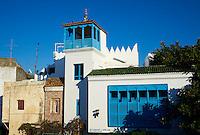 Maroc, Tanger, quartier de la Kasbah dans la Medina, restaurant l Africain // Morocco, Tangier (Tanger), Kasbah area on the old town, Africain restaurant