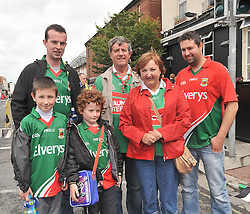 Supporting Mayo at Croker were the McNicholas's from Keelogues.<br />Pic Conor McKeown