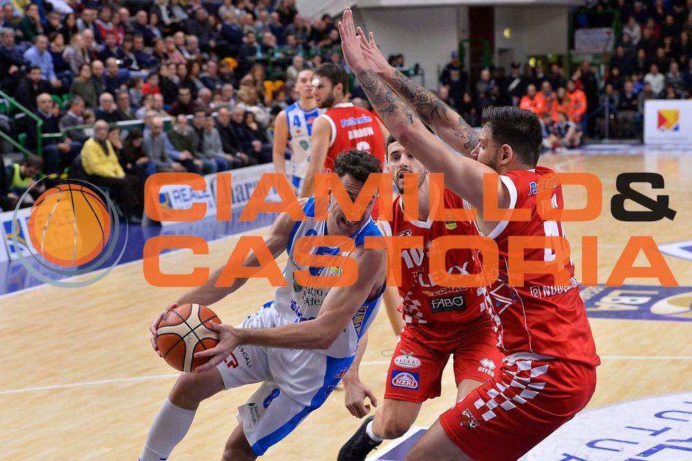 SASSARI 16 DICEMBRE 2017<br /> Banco di Sardegna Dinamo Sassari - The Flexx Pistoia<br /> LegaBasket LBA PosteMobile 2017/2018<br /> NELLA FOTO Giacomo Devecchi<br /> FOTO CIAMILLO - Luigi Canu