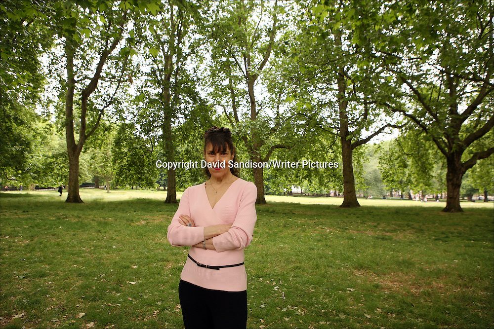 Wendy Perriam, English novelist, photographed in London on 5th June 2009.<br /> <br /> Picture by David Sandison/Writer Pictures<br /> <br /> WORLD RIGHTS