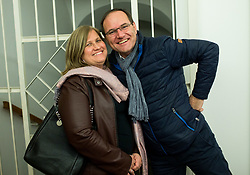 Tone Rode, CEO of Druzina with his wife, on November 18, 2018, in Ljubljana, Slovenia. Photo by Vid Ponikvar / Sportida