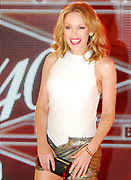 Kylie Minogue.  Jay Z's The 40/40 Club 10 year anniversary party.  New York, New York.<br />