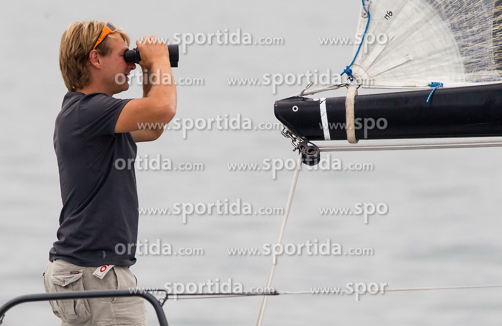 Sailboats during the North Adriatic regatta Barcolana 2014, on October 12, 2014 in Gulf of Trieste, Italy. Photo by Vid Ponikvar / Sportida.com