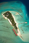 Maldives - Islands from the Air