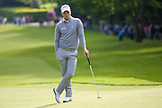 English golf professional Danny Willett  patiently waits at the BMW PGA Championship at the Wentworth Club, Virginia Water, United Kingdom on 27 May 2016. Photo by Simon Davies.