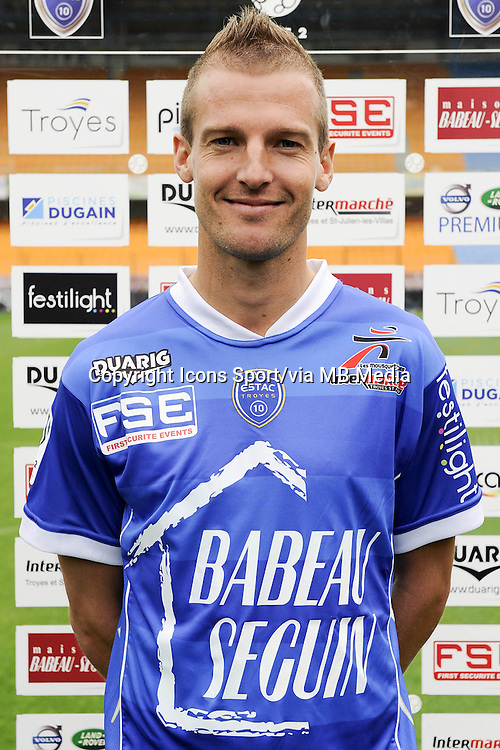 Stephane DARBION - 11.09.2013 - Photo Officielle - Troyes<br /> Photo : Icon Sport