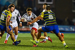 Thomas Ramos of Toulouse in action  - Mandatory by-line: Craig Thomas/JMP - 14/01/2018 - RUGBY - BT Sport Cardiff Arms Park - Cardiff, Wales - Cardiff Blues v Toulouse - European Rugby Challenge Cup