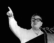 Salvador Allende Gossens 1908 –1973. Physician and first democratically elected Marxist to become president of Chile 1970-73. He was deposed in a coup d'état on September 11, 1973.
