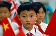 School children, Xian, China