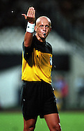 07.10.2000, Olympic Stadium, Athens, Greece...FIFA World Cup qualifying match, Greece v Finland. Referee Pierluigi Collina (ITA).©JUHA TAMMINEN