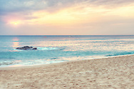 Sunset at White Sand Beach of Kenting