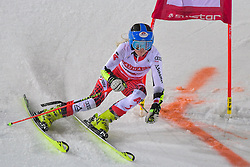 19.02.2019, Stockholm, SWE, FIS Weltcup Ski Alpin, Parallelslalom, Damen, im Bild Katharina Truppe (AUT) // Katharina Truppe of Austria in action during the ladie's parallel slalom of FIS ski alpine world cup at the Stockholm, Sweden on 2019/02/19. EXPA Pictures © 2019, PhotoCredit: EXPA/ Nisse Schmidt<br /> <br /> *****ATTENTION - OUT of SWE*****