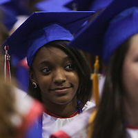 Pender High School held graduation ceremonies Saturday June 14, 2014 at the school in Burgaw, N.C. (Jason A. Frizzelle)