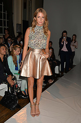 MILLIE MACKINTOSH at the Gyunel Spring Summer 2015 fashion show as part of London Fashion week 2015 held at Victoria House, Bloomsbury Square, London on 12th September 2014.