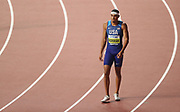 during the IAAF World Athletics Championships, Wednesday, Oct 2, 2019, in Doha, Qatar. (Claus Andersen/Image of Sport)