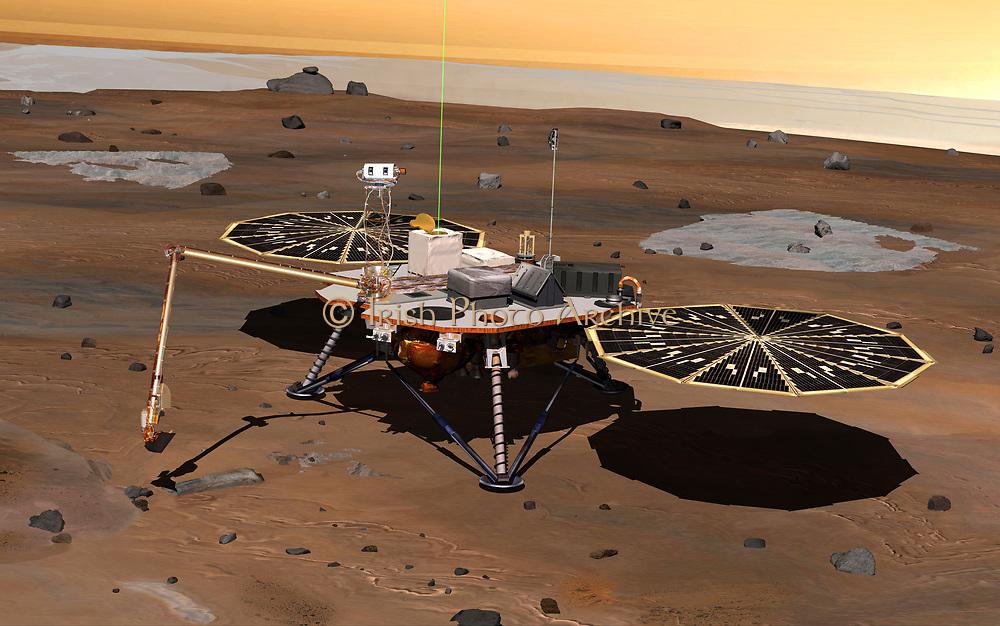 Phoenix Mars2 lander